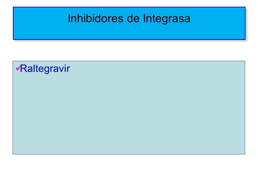 Inhibidores de Integrasa Raltegravir