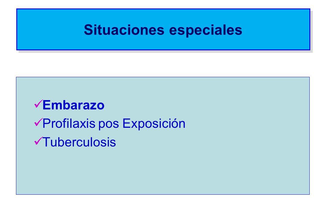 Embarazo Profilaxis pos Exposición Tuberculosis