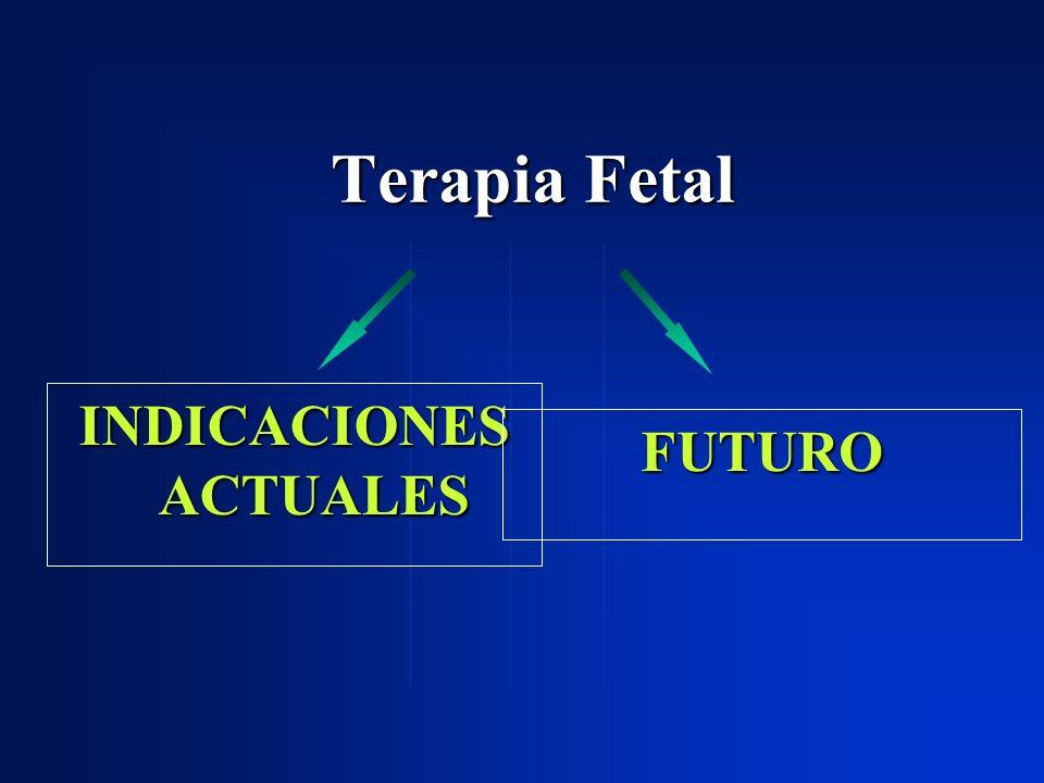 Terapia Fetal INDICACIONES ACTUALES FUTURO