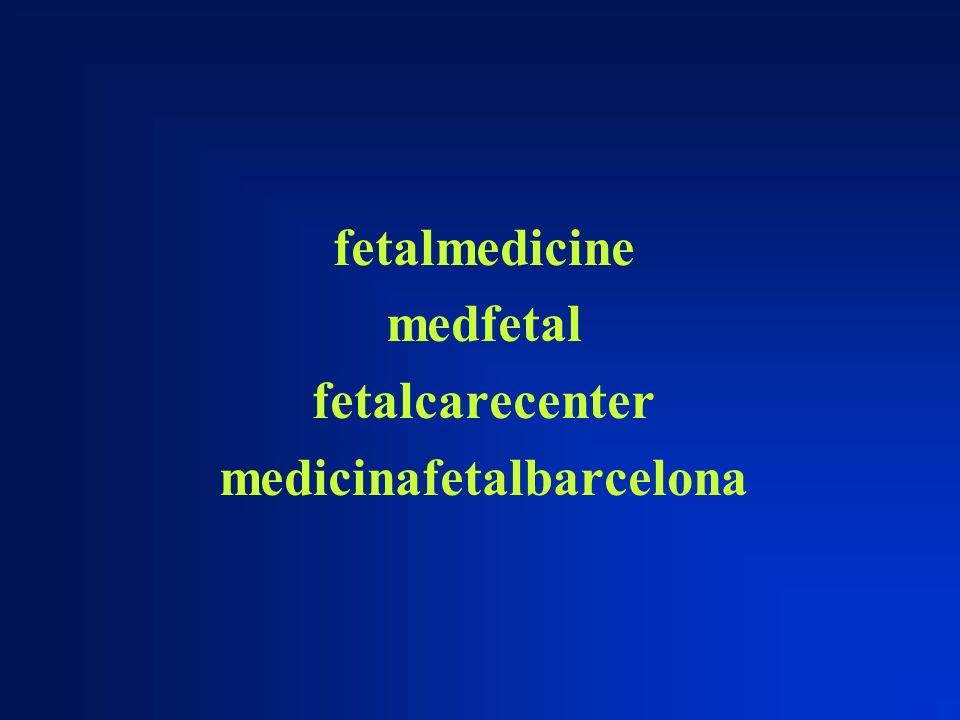 fetalmedicine medfetal fetalcarecenter medicinafetalbarcelona