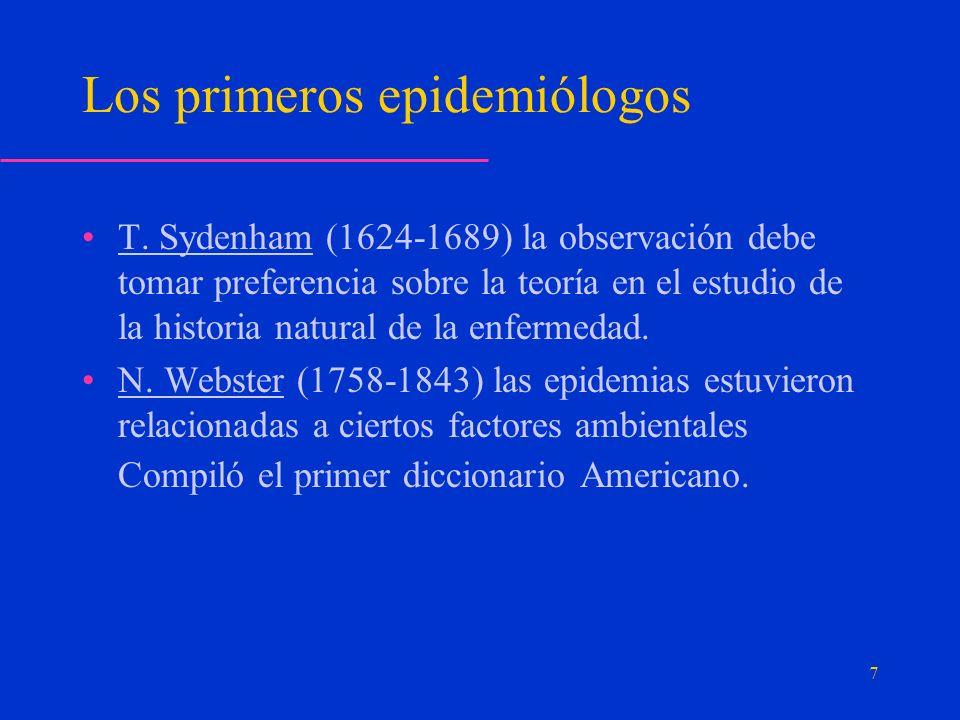 Propagación de la epidemia: Es típico de las enfermedades epidémicas que se transmitan por: El contacto directo Persona a persona.