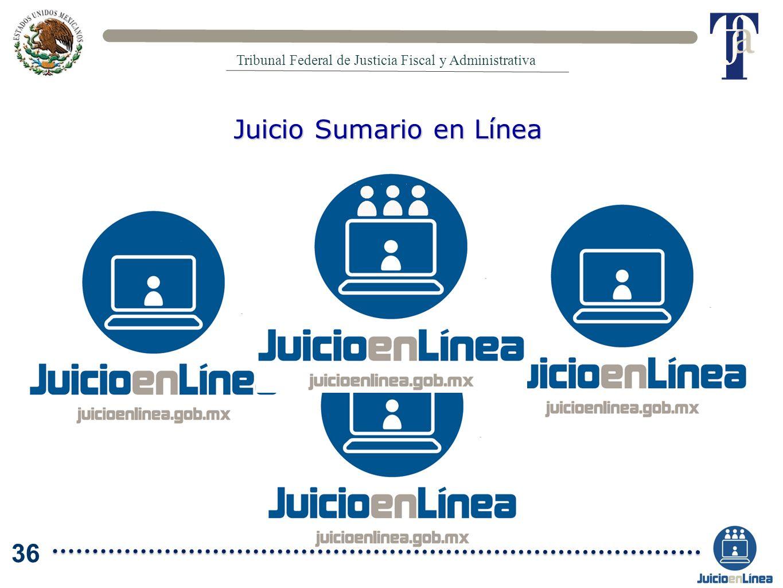 Juicio Sumario en Línea Tribunal Federal de Justicia Fiscal y Administrativa 36