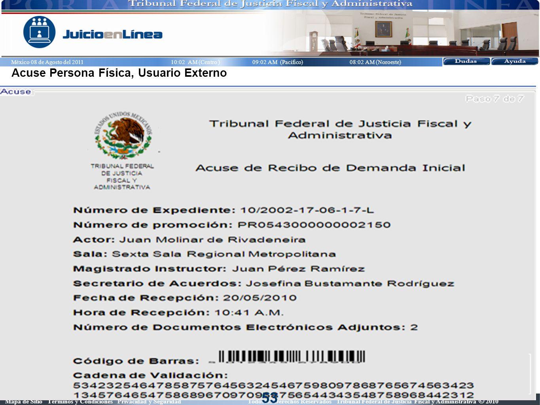 Mapa de Sitio Términos y Condiciones Privacidad y Seguridad Todos los Derechos Reservados Tribunal Federal de Justicia Fiscal y Administrativa © 2010