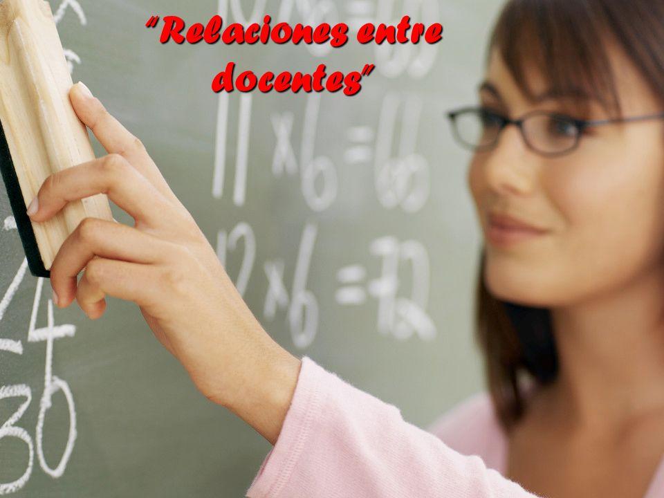 Relaciones entre docentes