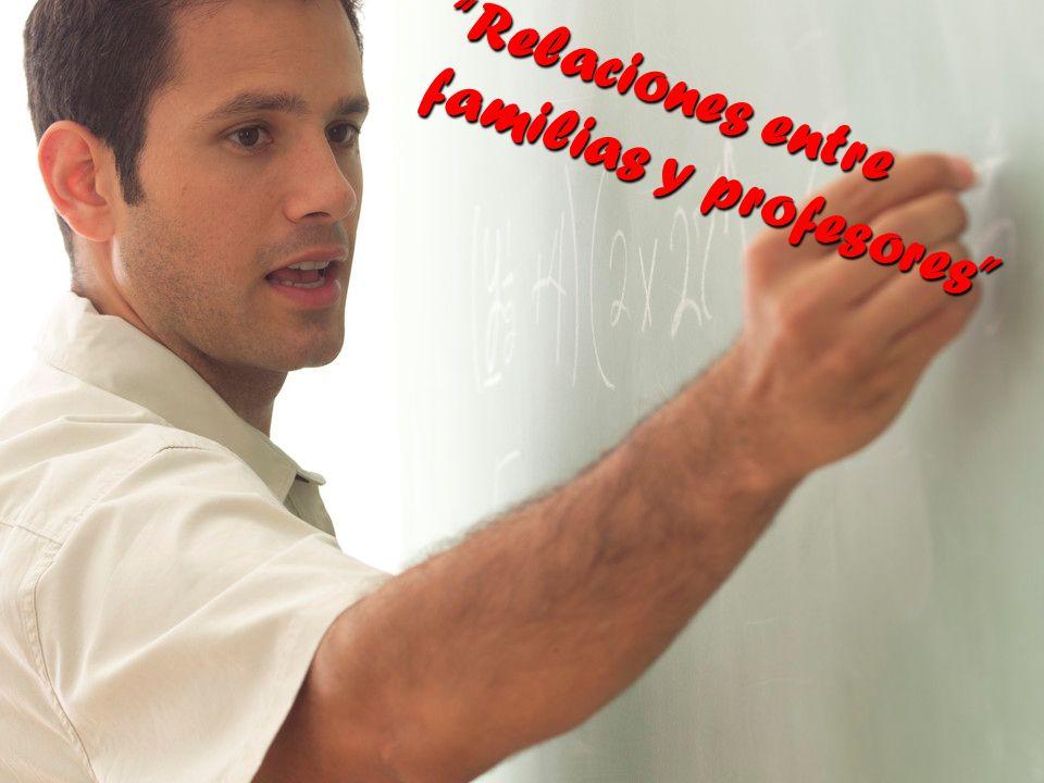 Relaciones entre familias y profesores