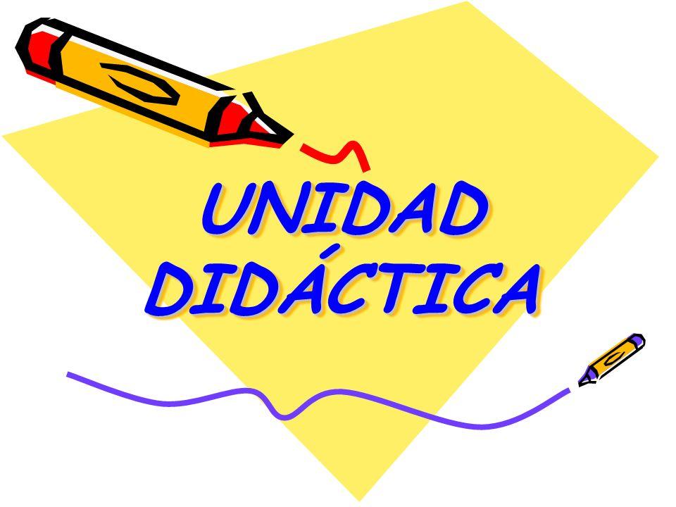 DEFINICIÓN Es una unidad de trabajo compuesta por un conjunto de actividades, articuladas y coherentes entre sí, que responden a unos determinados objetivos y contenidos.