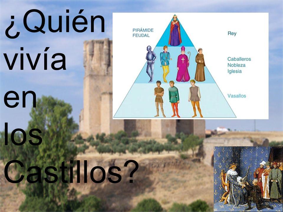 ¿Quién vivía en los Castillos?