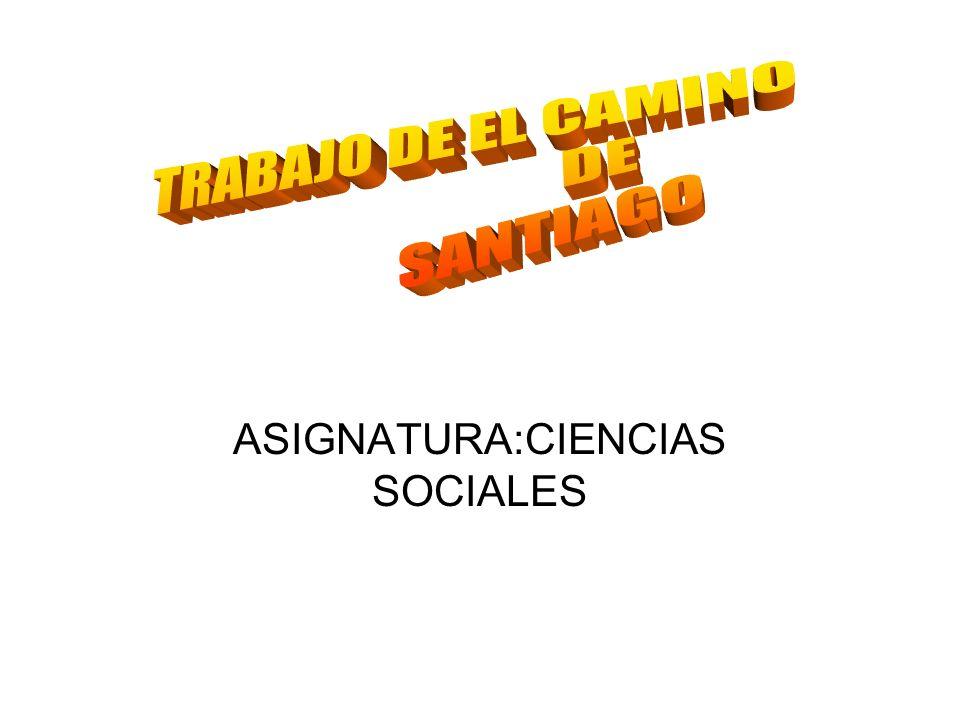 ASIGNATURA:CIENCIAS SOCIALES