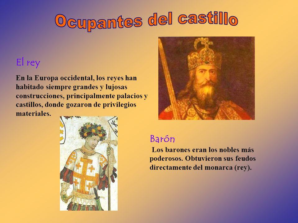 El rey En la Europa occidental, los reyes han habitado siempre grandes y lujosas construcciones, principalmente palacios y castillos, donde gozaron de