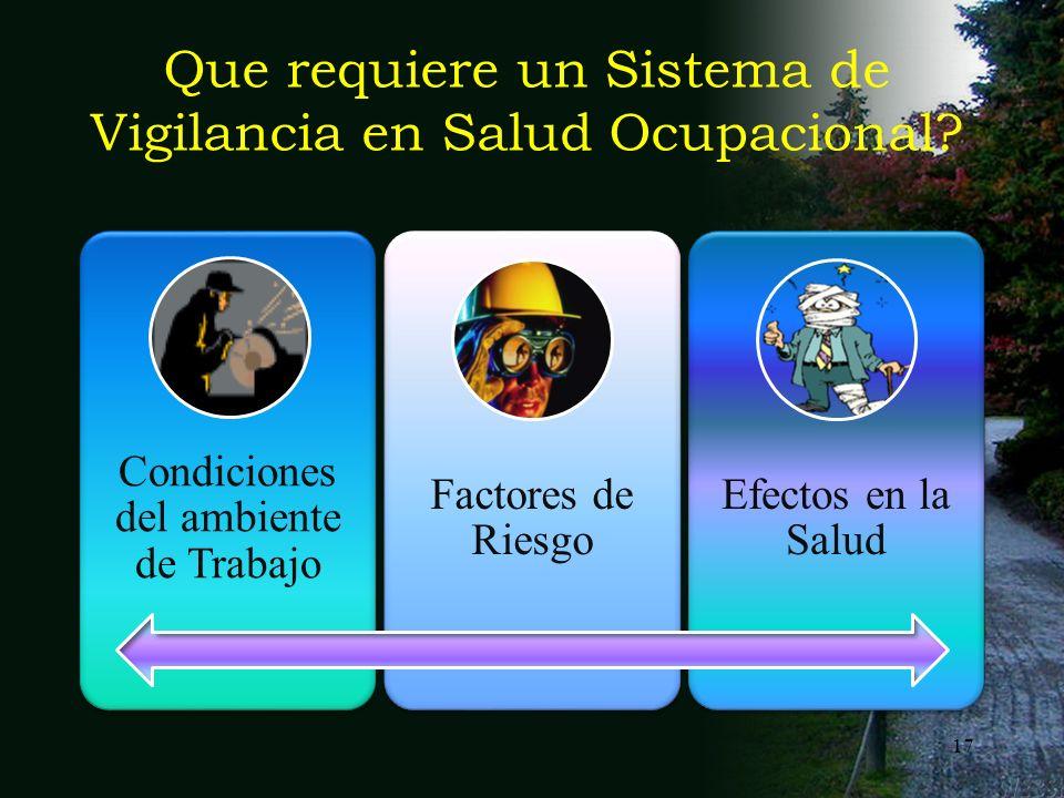 16 meorjuelar@unal.edu.co16 Es la construcción conceptual que ordena los aspectos con que se aborda un problema específico que requiere ser vigilado p