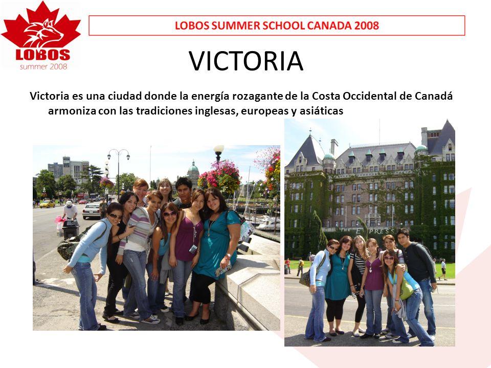 VICTORIA Victoria es una ciudad donde la energía rozagante de la Costa Occidental de Canadá armoniza con las tradiciones inglesas, europeas y asiáticas