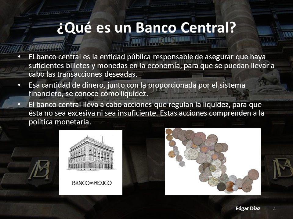 35 Una de las funciones más importantes del Banco de México, es controlar la inflación.