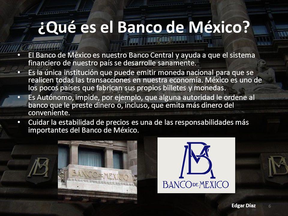 7 ¿Qué es la Junta de Gobierno del Banco de México.