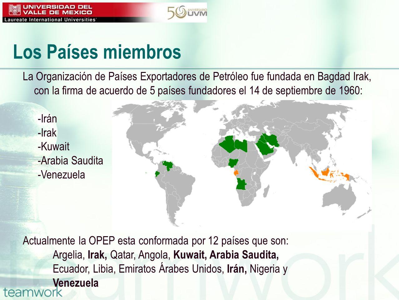 La Secretaria de la OPEP, es el órgano ejecutivo localizado en Viena que rige la organización de acuerdo al estatuto.