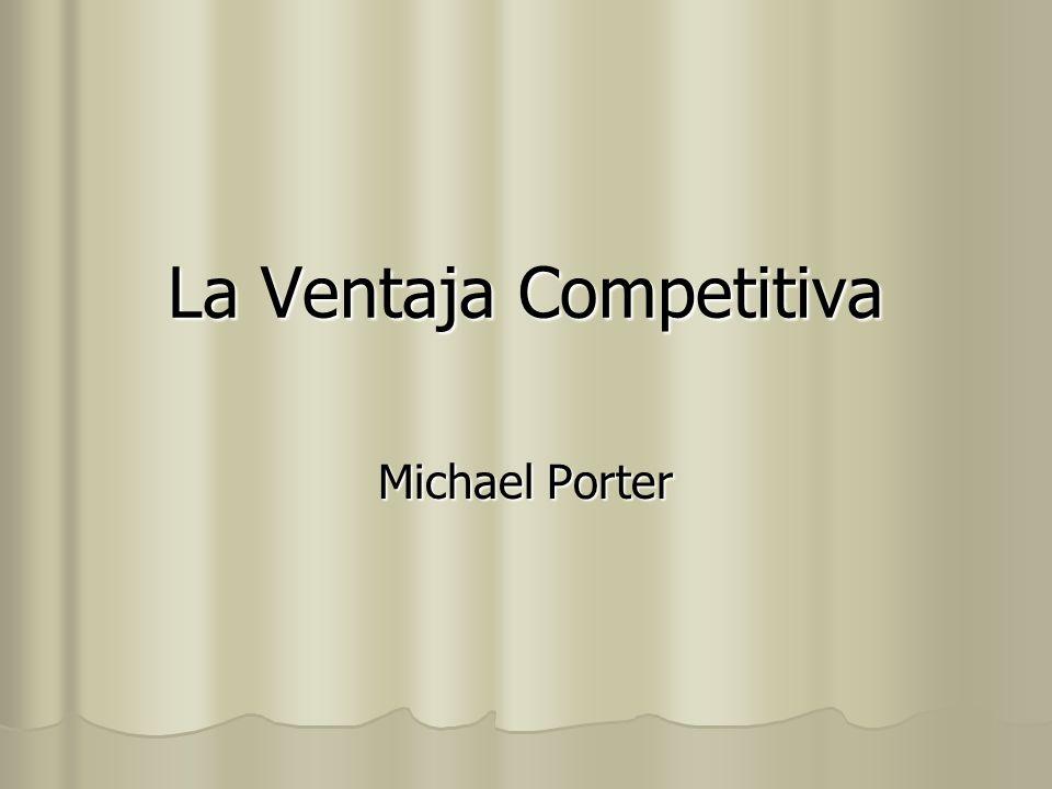 La Ventaja Competitiva Michael Porter
