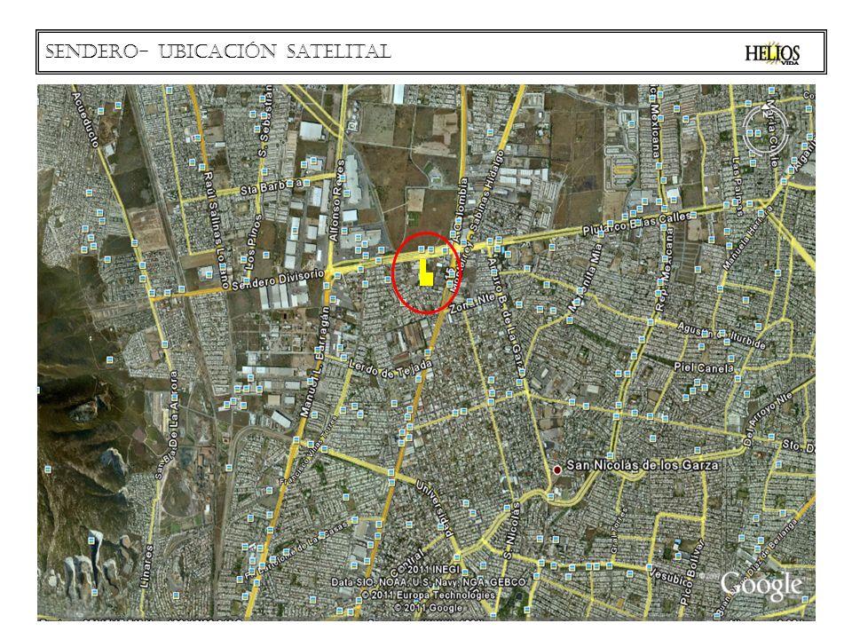 Sendero- ubicación satelital