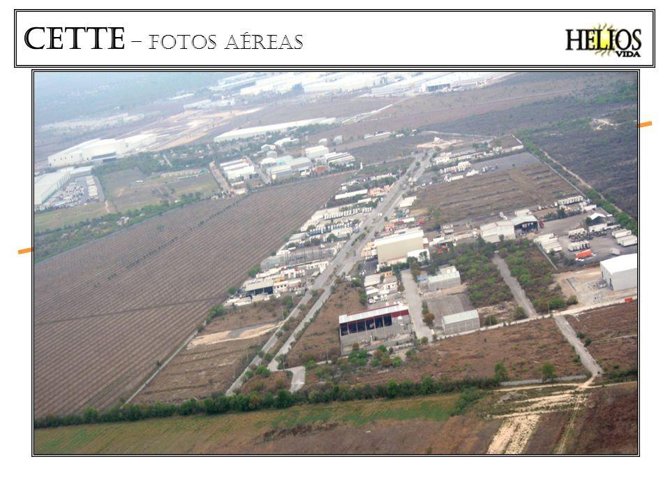 CETTe – fotos aéreas CARRETERA SALINAS VICTORIA - AEROPUERTO CETTE LOTES INDUSTRIALES Área vendible 51,000 M2