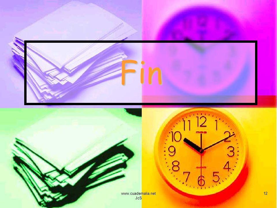 www.cuadernalia.net JcS 12 Fin