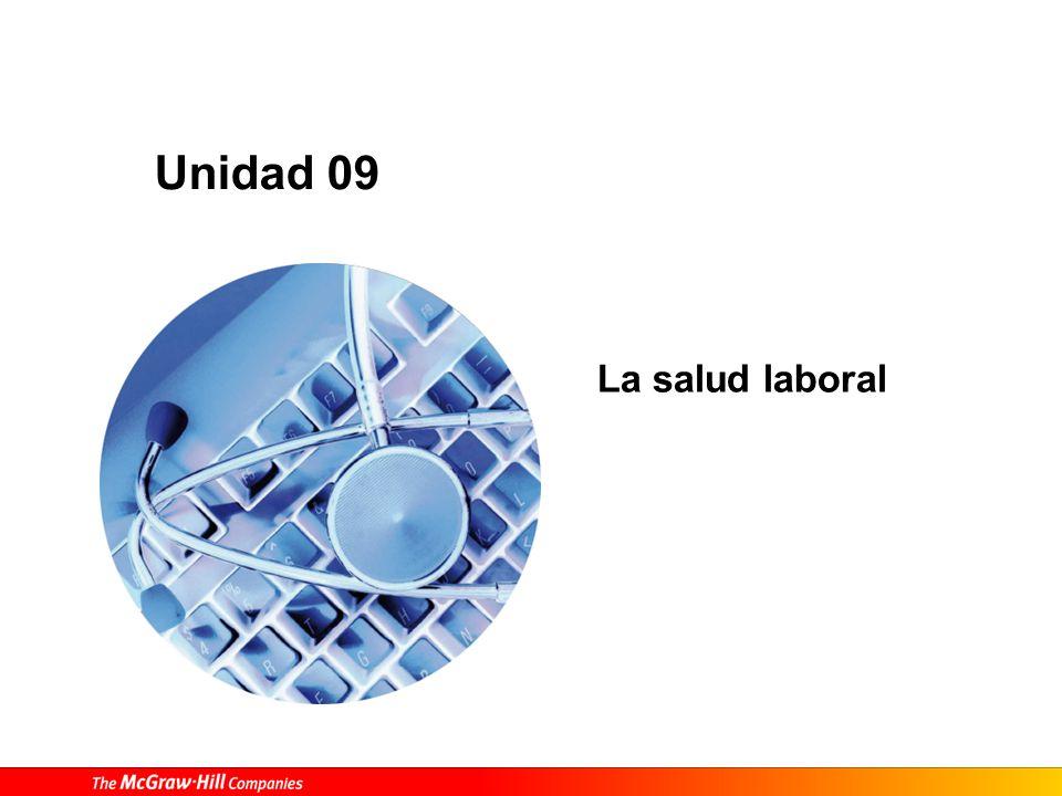 La salud laboral Unidad 09