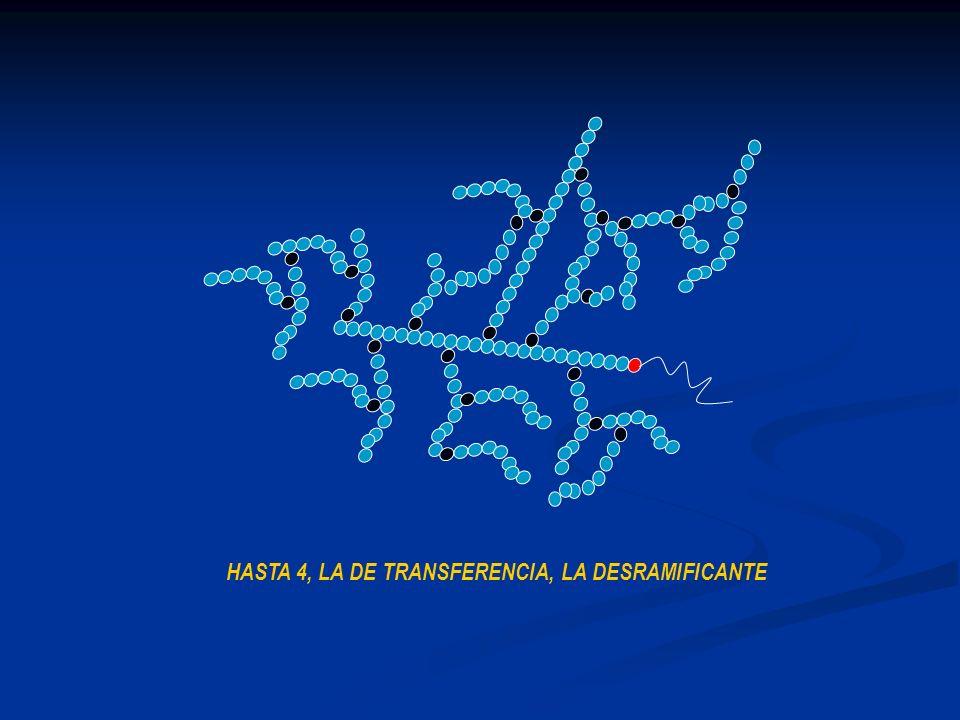 HASTA 4, LA DE TRANSFERENCIA, LA DESRAMIFICANTE