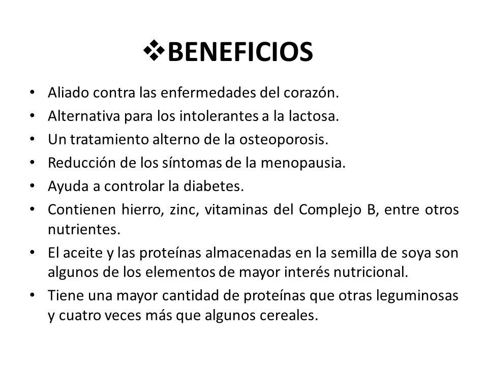 BENEFICIOS Aliado contra las enfermedades del corazón.