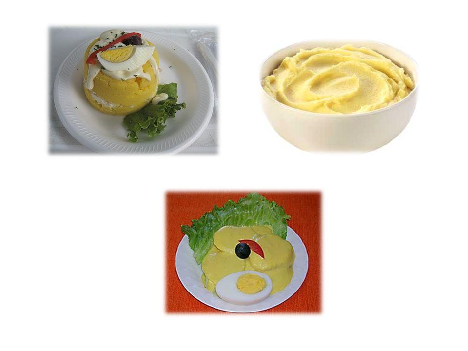 Vitaminado de Hígado con Papa Amarilla Ingredientes : (2 porciones) Papa amarilla400 gr.