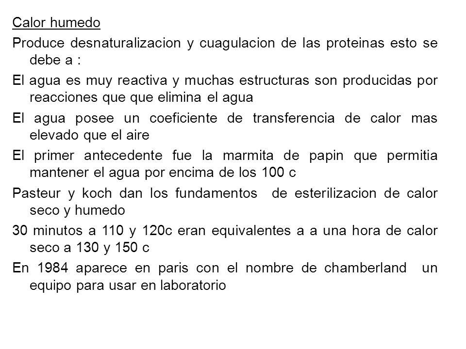 Formol Gas soluble en agua se usa al 40% usado en forma gaseosa se usa en esterilizacion de hospitales COMPUESTOS INORGANICOS La actividad de los compuestos derivados de metales pesados se debe a la formacion de sales que se disocian con dificulta de los grupos sulfidrilo de la proteina Nitrato de plata Buen bactericida se usa en tratar quemaduras en solucion al 0,5% y en profilaxis Derivados mercuriales Usa como desinfectante de la piel Agua oxigenada Oxidante descompuesto por la catalasa de los tejidos Permanganato de potasio Oxidante se inactiva en presencia de materia organica