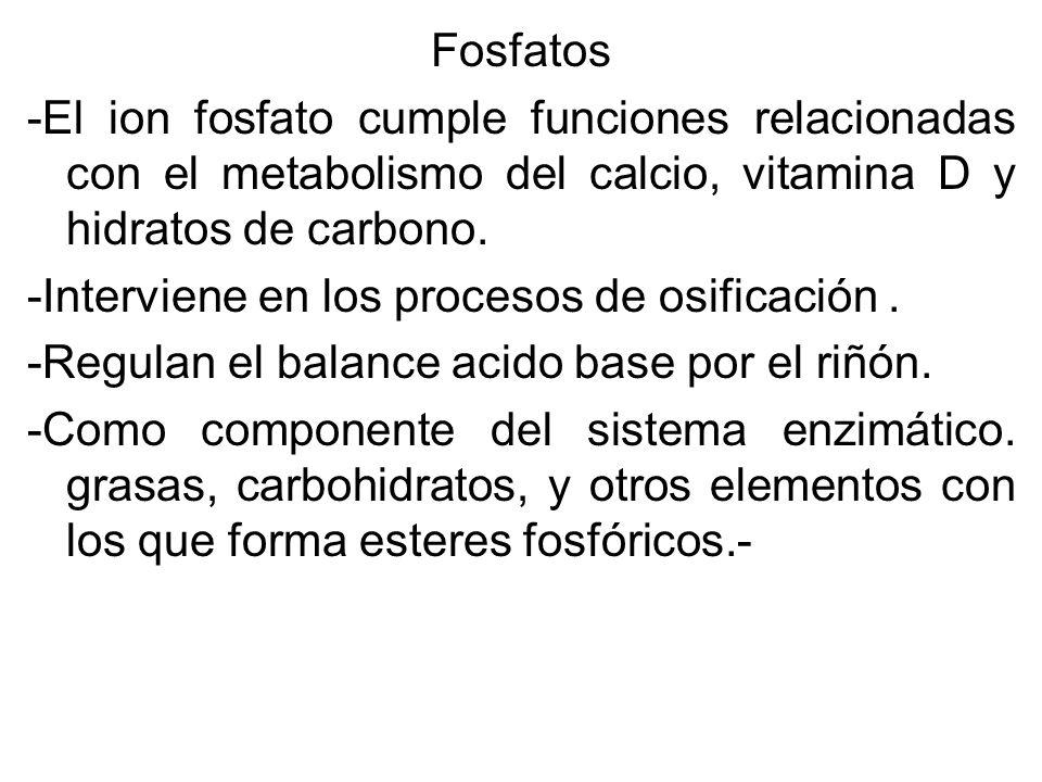 TRASTORNO METABOLICO POR HIPERFOSFATEMIA La hipoerfosfatemia se presenta cuando los valores de fosfatos séricos exceden los valores S normales ((2,4 a 4,1 mg/dl) CAUSAS DE LA HIPÉRFOSFATEMIA Insuficiencia renal.