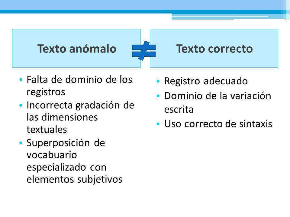Conclusión ¿Cuáles son las variedades de la lengua escrita.