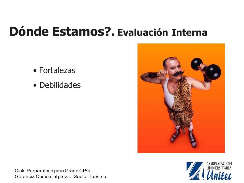 Ciclo Preparatorio para Grado CPG Gerencia Comercial para el Sector Turismo Fortalezas.