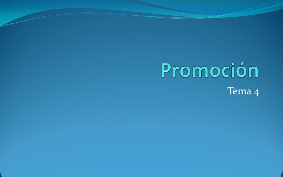 Promoción de ventas Consumidores finales Consumidores de negocios Empleados de la empresa Muestras gratis Concursos Premiums Shows de Intercambios Regalos vacacionales Cupones