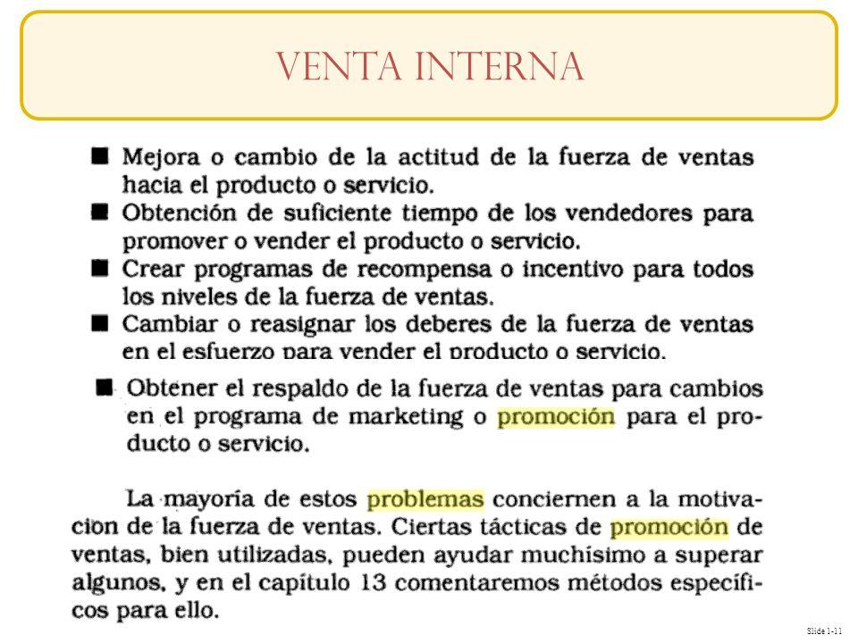 Slide 1-11 Conceptos Venta interna