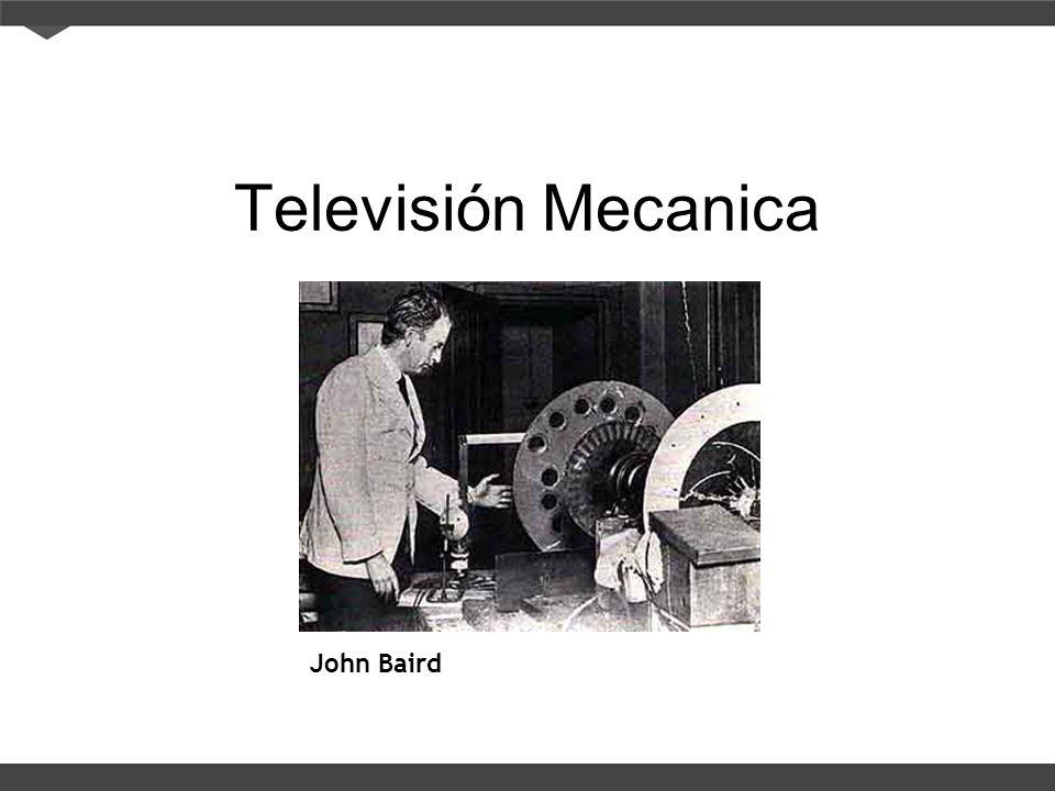 Televisión Mecanica John Baird