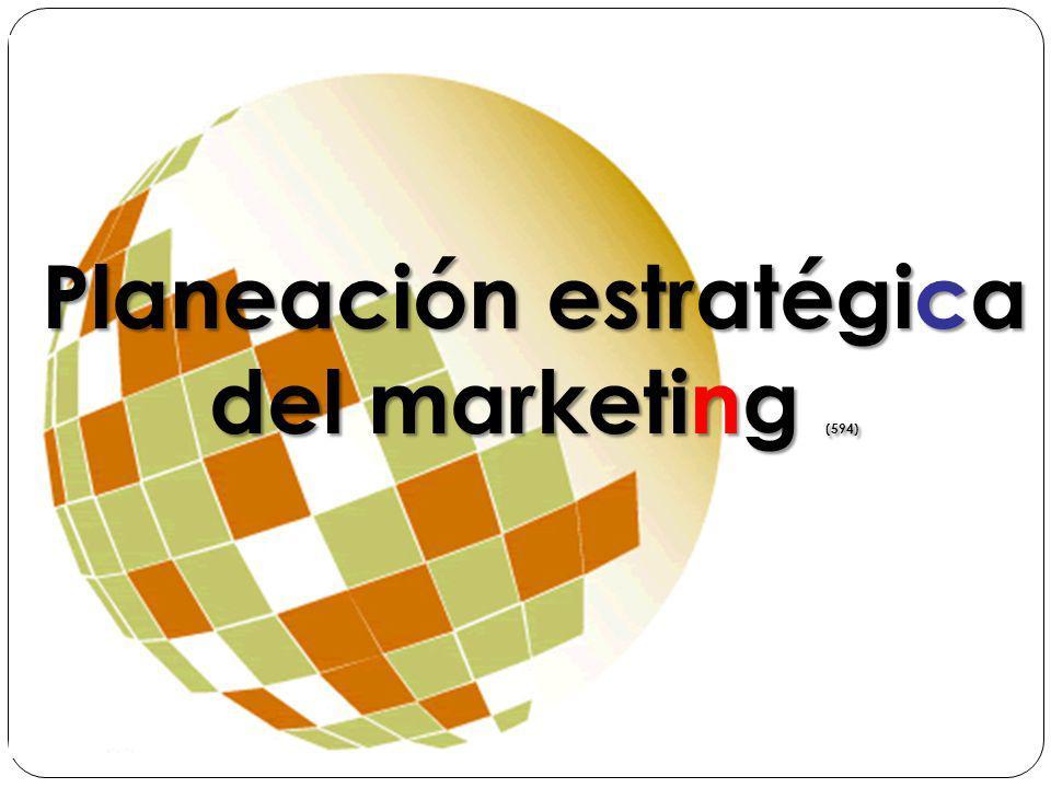 Planeación estratégica del marketing (594)
