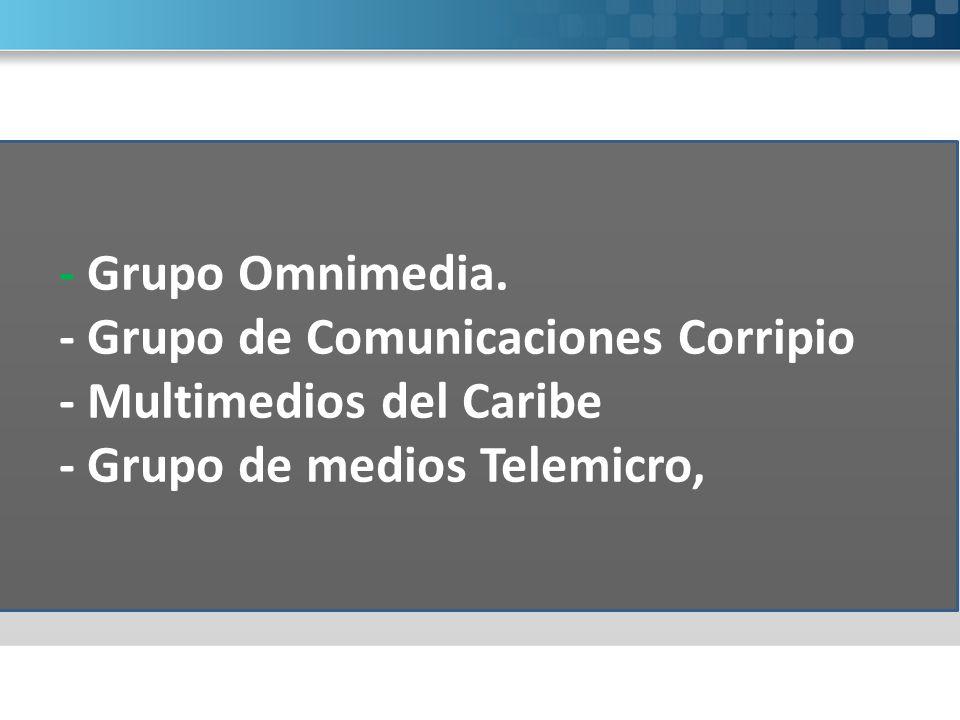 - Grupo Omnimedia.