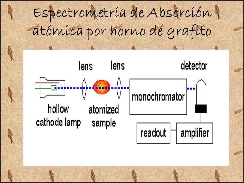 Espectrometría de Absorción atómica por horno de grafito