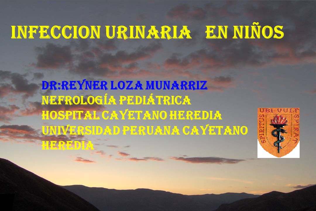 INFECCION URINARIA EN NIÑOS o DEFINICION :UROCULTIVO POSITIVO CON RECUENTO DE COLONIAS MAYOR DE 100,000 Col / o ITU RECURRENTE : NUEVA INFECCION URINARIA POR UNA NUEVA BACTERIA QUE REPRESENTAN DOS EPISODIOS EN 6 MESES