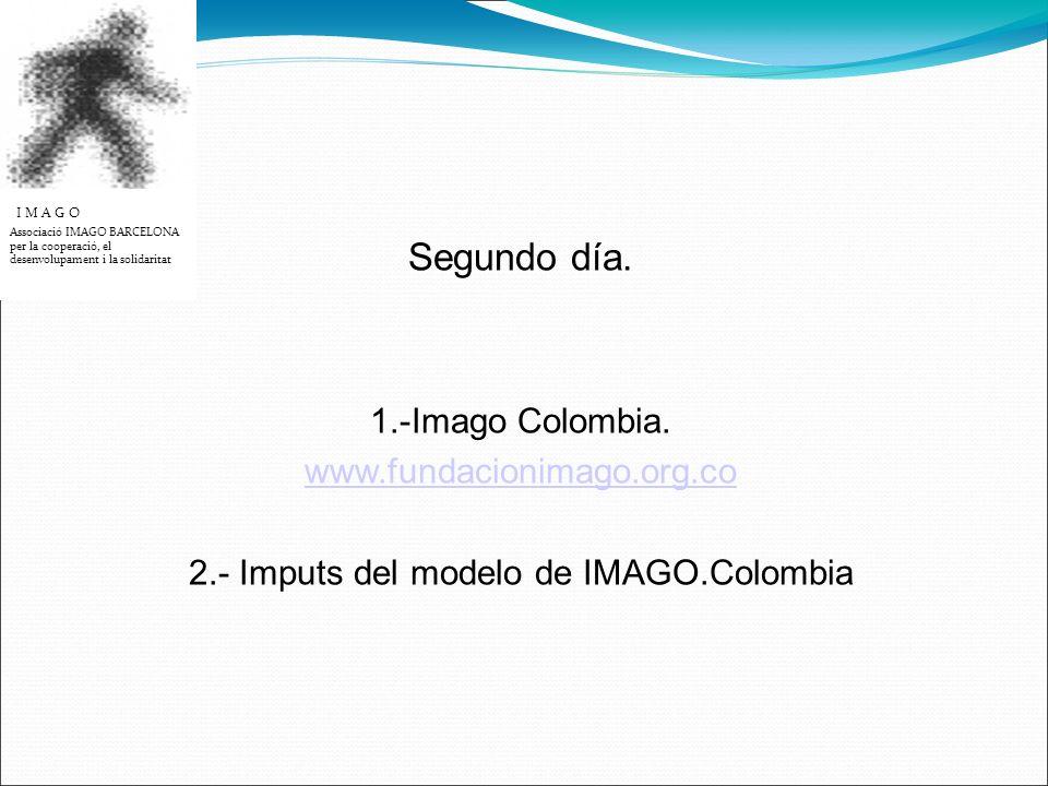 Segundo día. 1.-Imago Colombia.