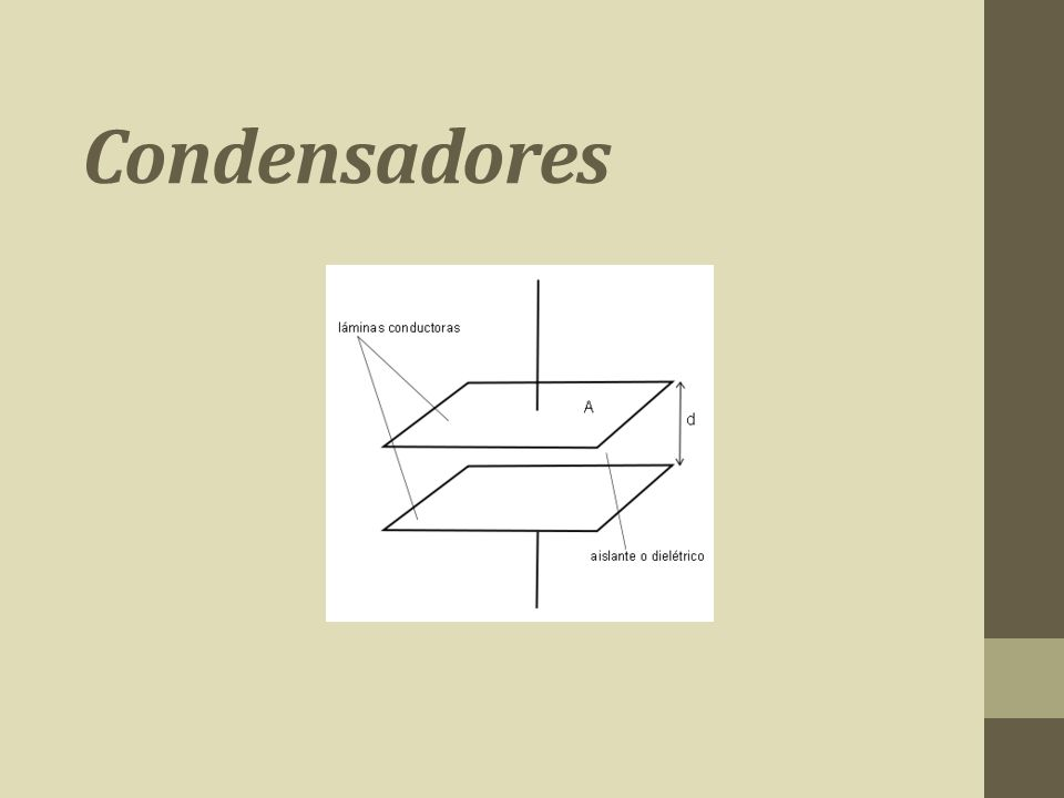 Condensadores