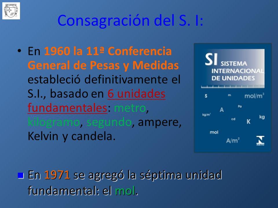 Consagración del S.