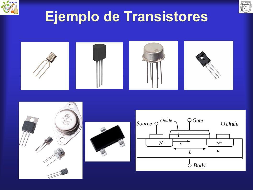Ejemplo de Transistores