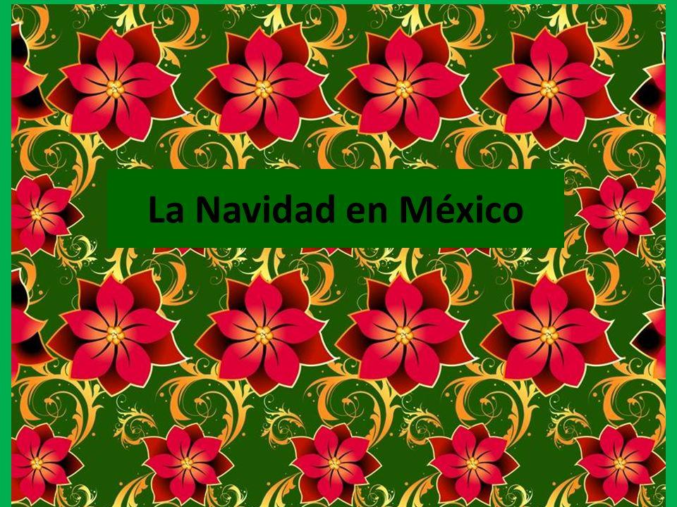 La celebración de la Navidad empieza con la fiesta de la virgen de Guadalupe.
