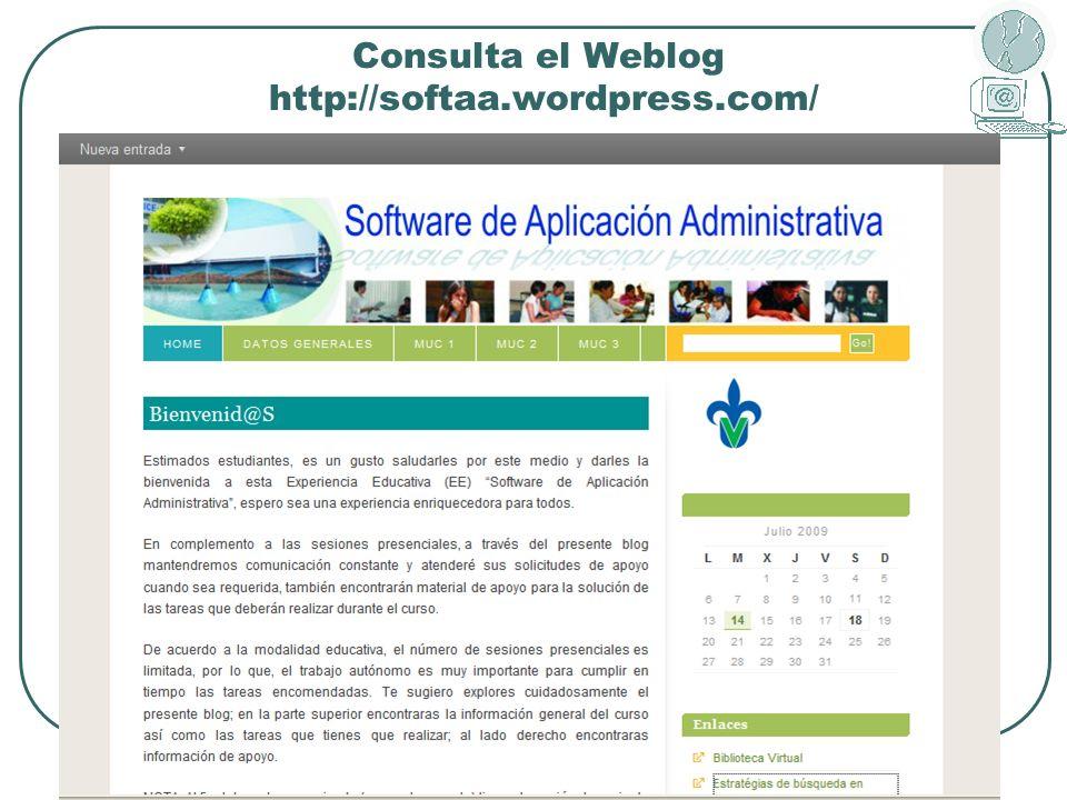 Consulta el Weblog http://softaa.wordpress.com/
