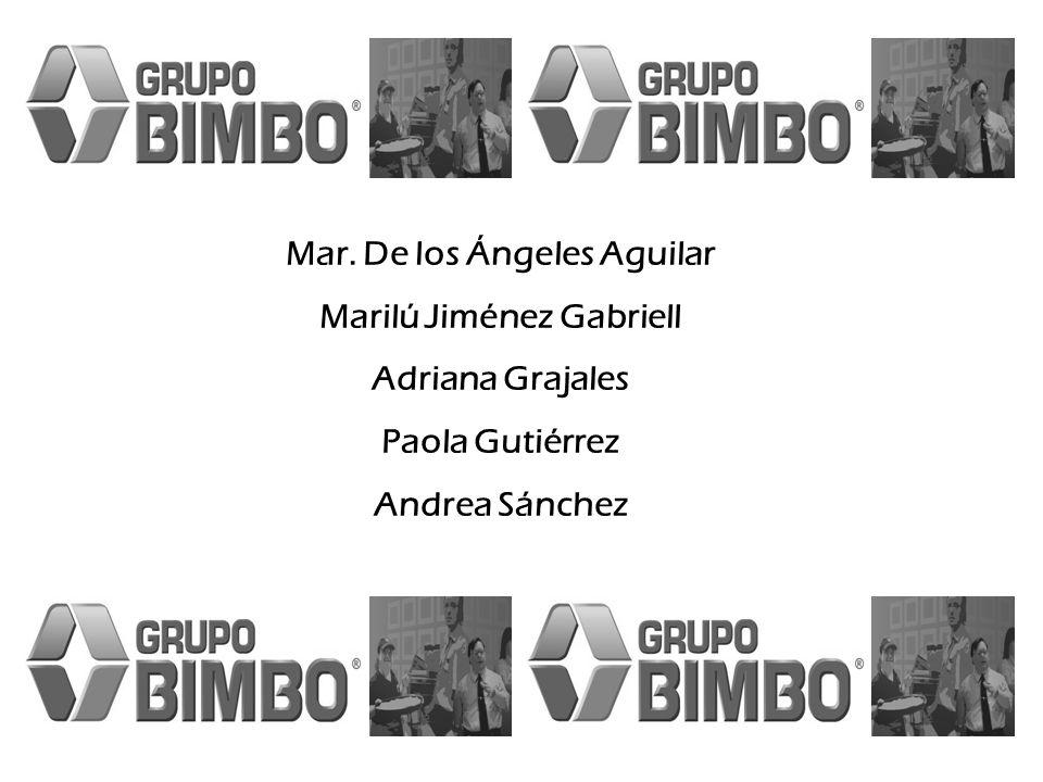 Mar. De los Ángeles Aguilar Marilú Jiménez Gabriell Adriana Grajales Paola Gutiérrez Andrea Sánchez