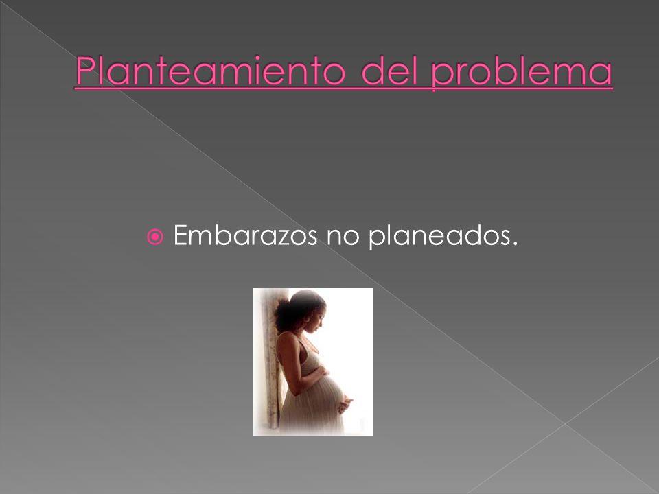 Métodos anticonceptivos Sexualidad en México Estadísticas Esta información está comprendida en la información secundaria