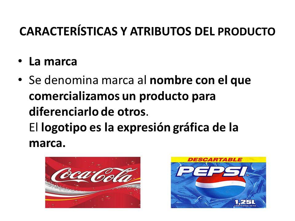 La marca Se denomina marca al nombre con el que comercializamos un producto para diferenciarlo de otros. El logotipo es la expresión gráfica de la mar
