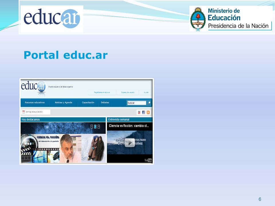 6 Portal educ.ar