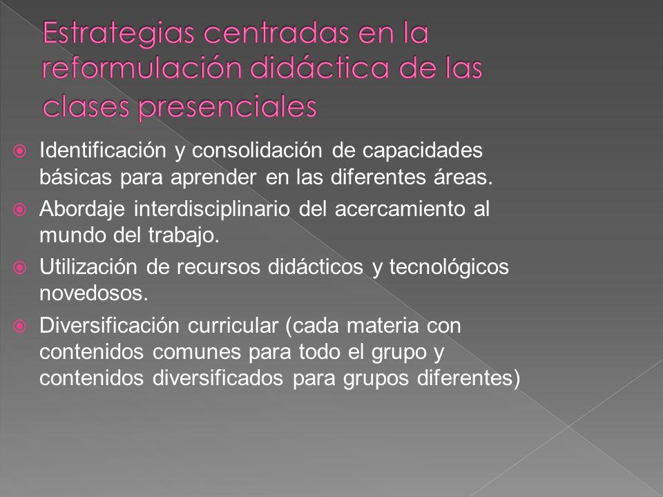 Identificación y consolidación de capacidades básicas para aprender en las diferentes áreas. Abordaje interdisciplinario del acercamiento al mundo del