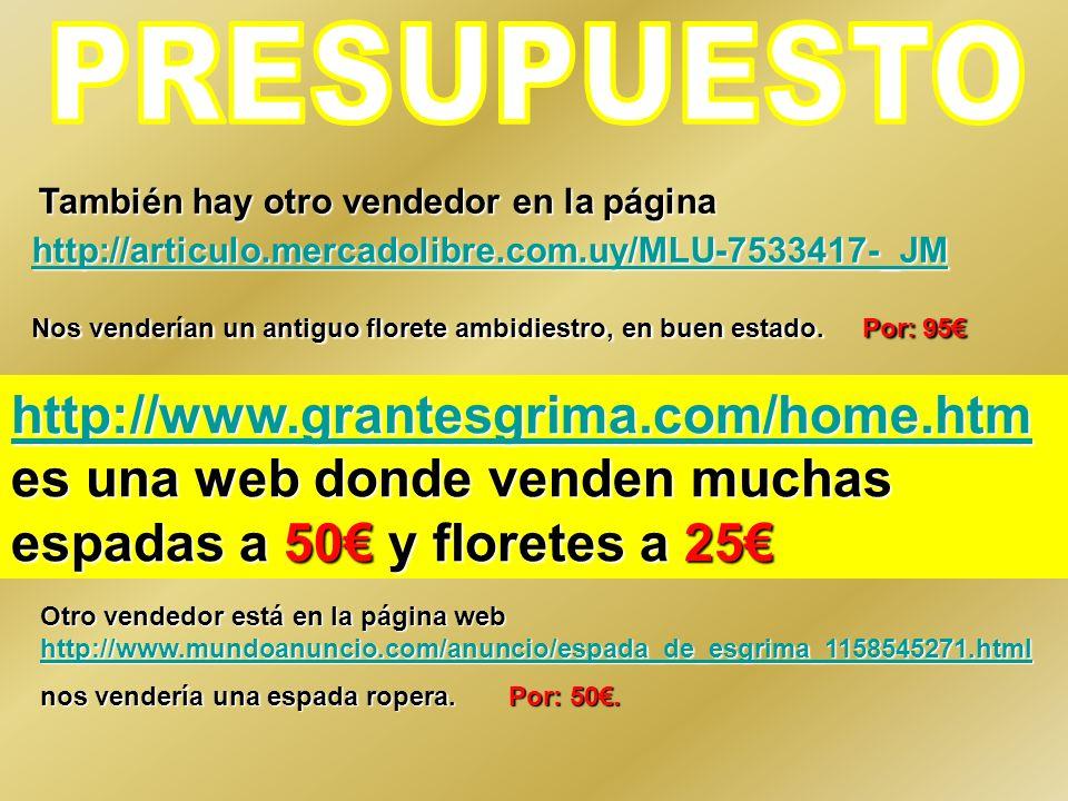 También hay otro vendedor en la página http://articulo.mercadolibre.com.uy/MLU-7533417-_JM También hay otro vendedor en la página http://articulo.merc