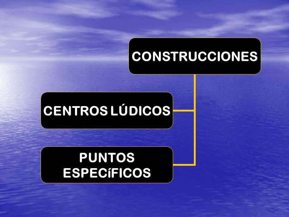 CONSTRUCCIONES CENTROS LÚDICOS PUNTOS ESPECíFICOS